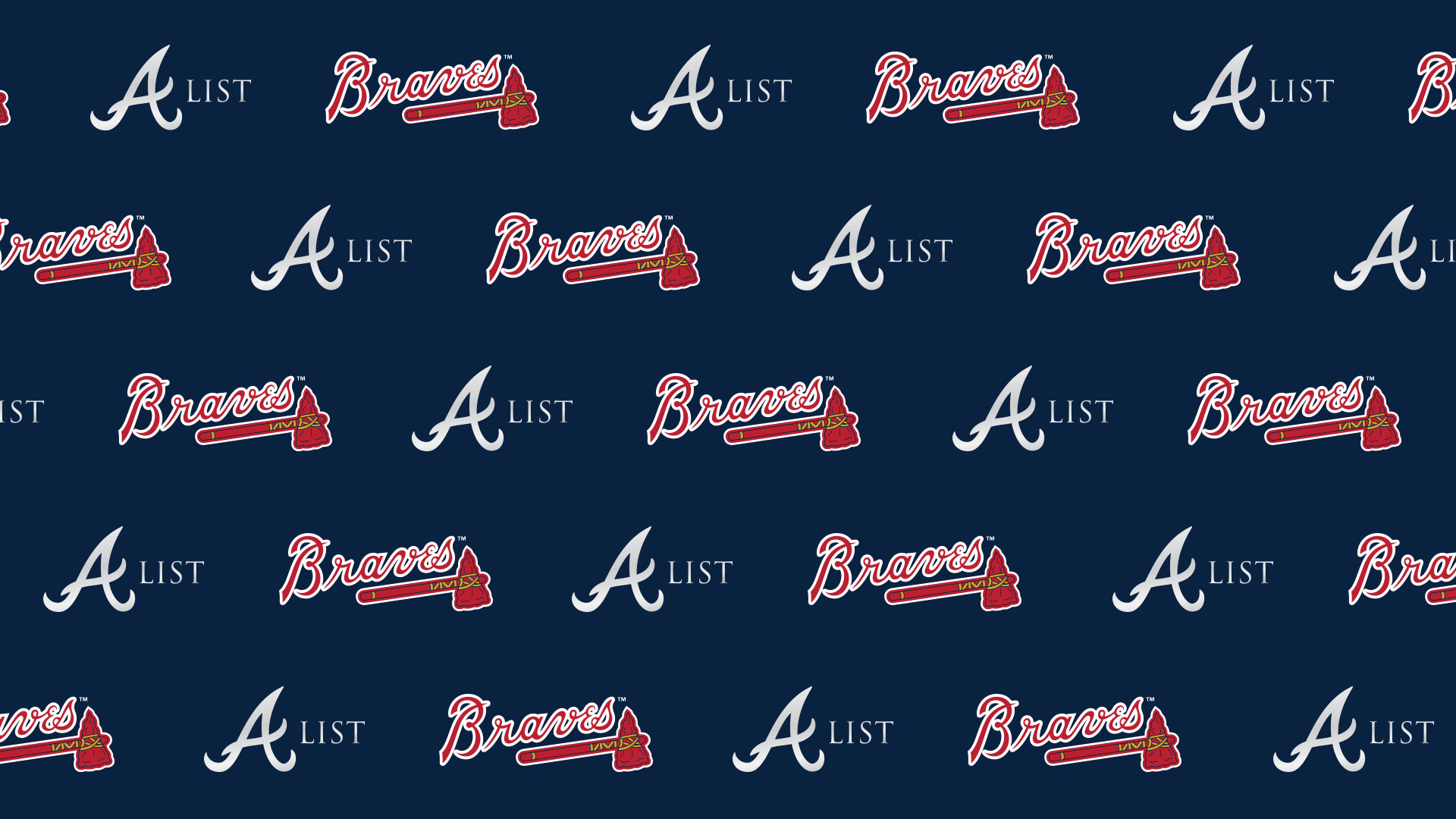 At Home Activities A List Member Atlanta Braves