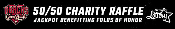 50/50 Charity Raffle benefiting Folds of Honor
