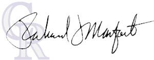 Richard Monfort Signature