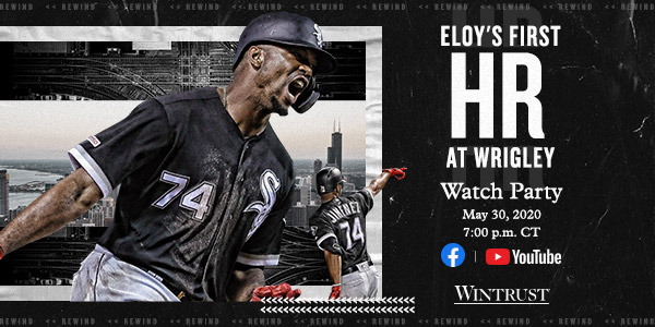 Eloy's First HR at Wrigley Watch Party